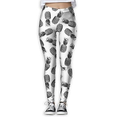 Amazon.com: ykmdw Mujer Skinny pantalones de yoga de moda ...