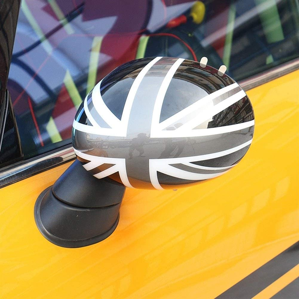 Generic Brands Espejos para autom/óviles For Mini Cooper S JCW Una F56 F55 2pcs Union Jack Puerta Espejo retrovisor Covers Pegatinas de Coches-Styling Accesorios de la decoraci/ón Color : Blue