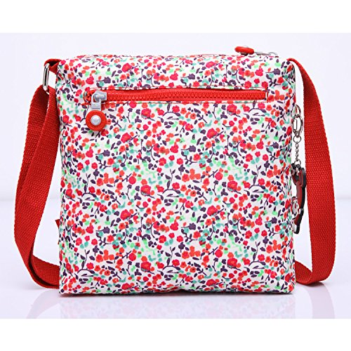 Shoulder Messenger Body Bag Red Satchel Casual Side Pack Bag Women Cross Fashion Travel Bag Girls Foino Sport 2 for Iq85w