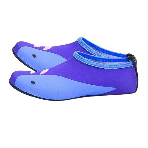 SABOLAY Niños Zapatos de natación al Aire Libre Calcetines de Playa Transpirables Zapatos de Agua Niños