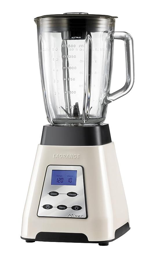 Lagrange 609001 - Batidora de vaso (1000 W), color crema