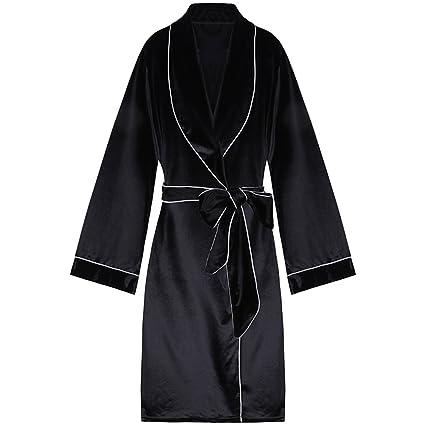 Pijamas camisones batas de noche camisones de terciopelo batas de encaje manga larga sexy ropa de