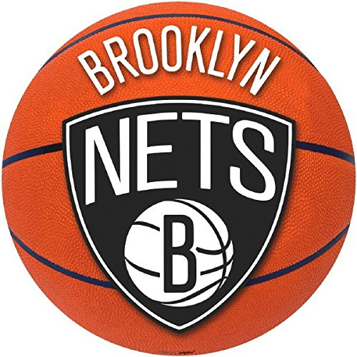 Sports and Tailgating NBA Party Brooklyn Nets Large Cutout Decoration, Paper, 12