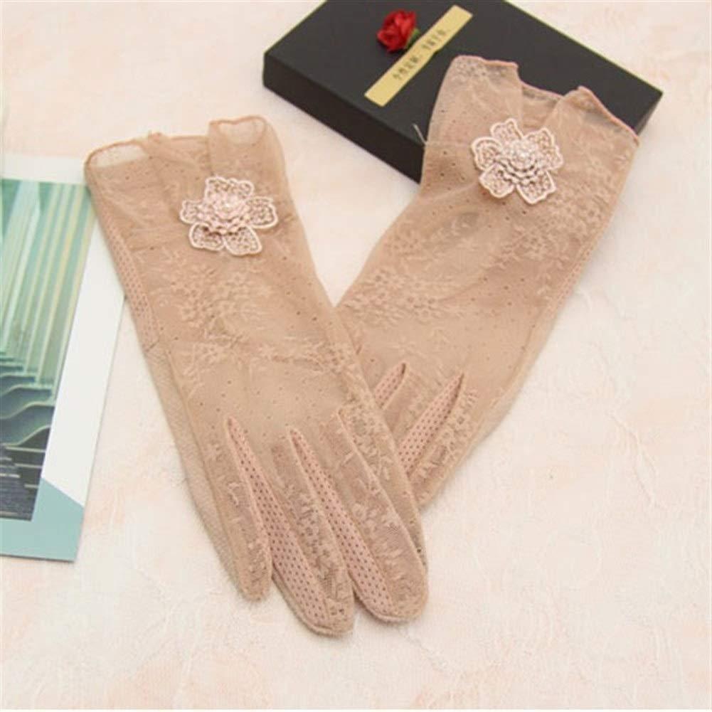 Uoyov Neue 2019 China Mode Kreative Handschuhe Frauen D/ünne Sommer Sonnenschutzhandschuhe Spitze Touchscreen Drive rutschfeste Dame Kurze Sonnenschutz Fahren,