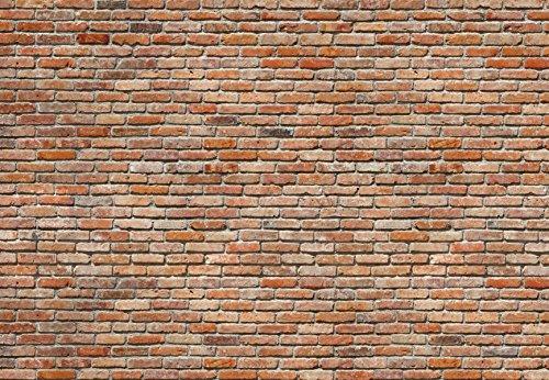 Komar 8-741 8-Panels 12-Foot 1-Inch by 8-Foot 4-Inch Bricks Wall Mural by Komar