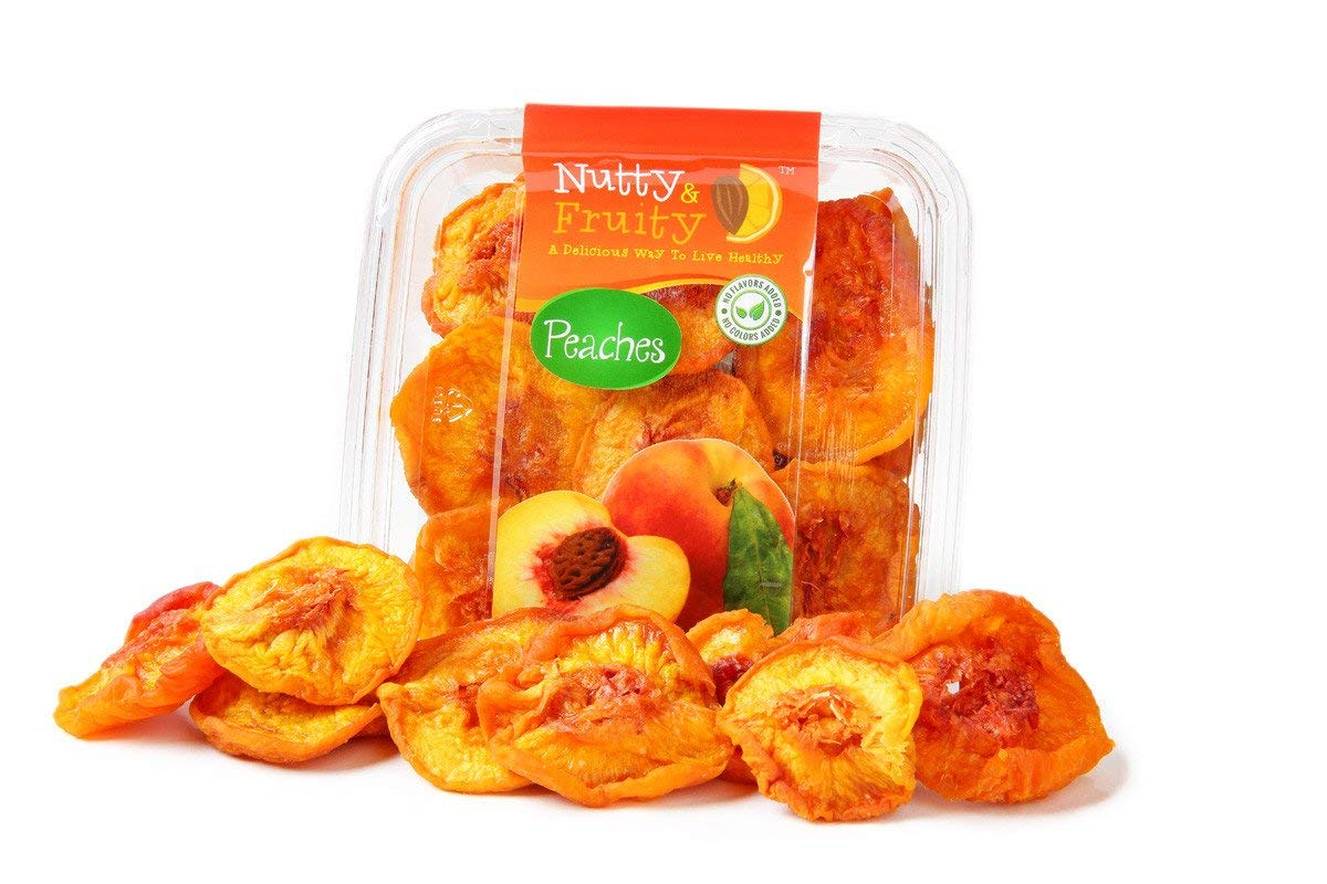 DRIED PEACH SLICES 3 oz Bag(pack of 3) Total 9 oz