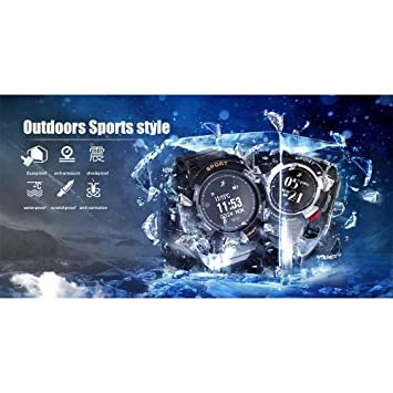 Amazon.com: LXJTT IP68 Waterproof Smart Watch Sleep Monitors ...