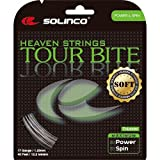 #9: Solinco Tour Bite Soft (16-1.30mm) Tennis String (Silver)