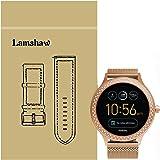 fossil damen smartwatch q venture 3 generation leder sand moderne smartwatch mit. Black Bedroom Furniture Sets. Home Design Ideas