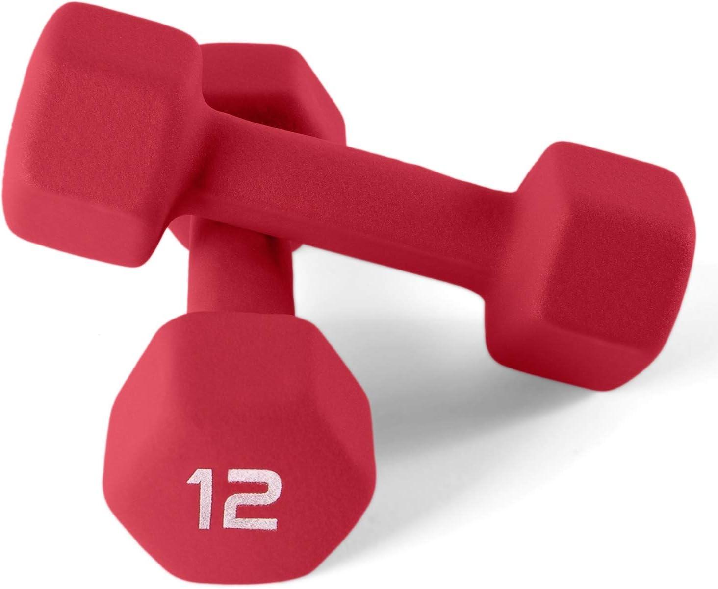 CAP Barbell Neoprene Coated Dumbbell Weight