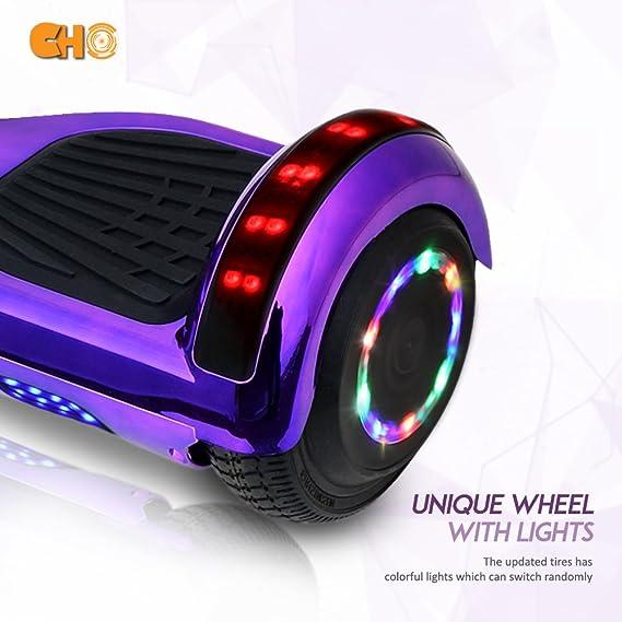Amazon.com: CHO Ruedas eléctricas inteligentes de 6.5 in ...