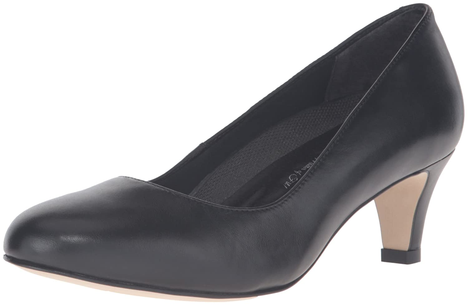 Walking Cradles Women's Joy Dress Pump B01BNFRA4O 8.5 W US|Black Leather