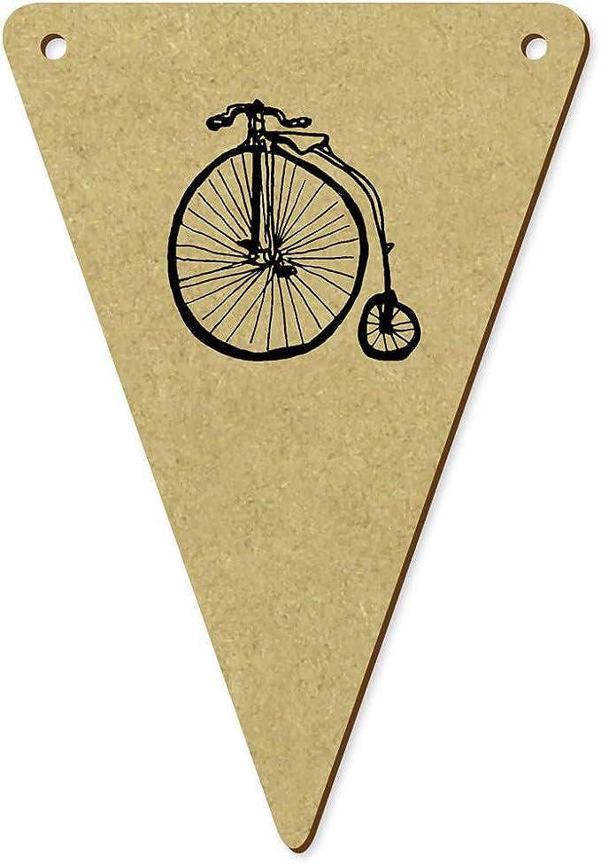 Azeeda 5 x 100mm Vieja Bicicleta Banderines / Banderas (BN00053903): Amazon.es: Juguetes y juegos