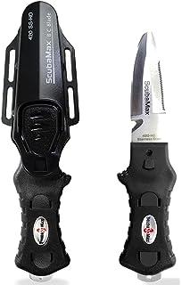 Amazon.com: Scubamax - Cuchillo BC redondeado (acero ...