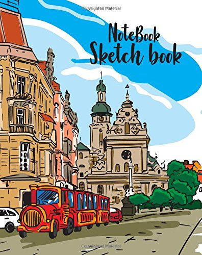 notebook-sketchbook-cute-colorful-town-cover-notebook-sketchbook-paper-book-for-sketching-drawing-journaling-doodling-sketchbooks-perfect-size-at-8-x-10-120-pages