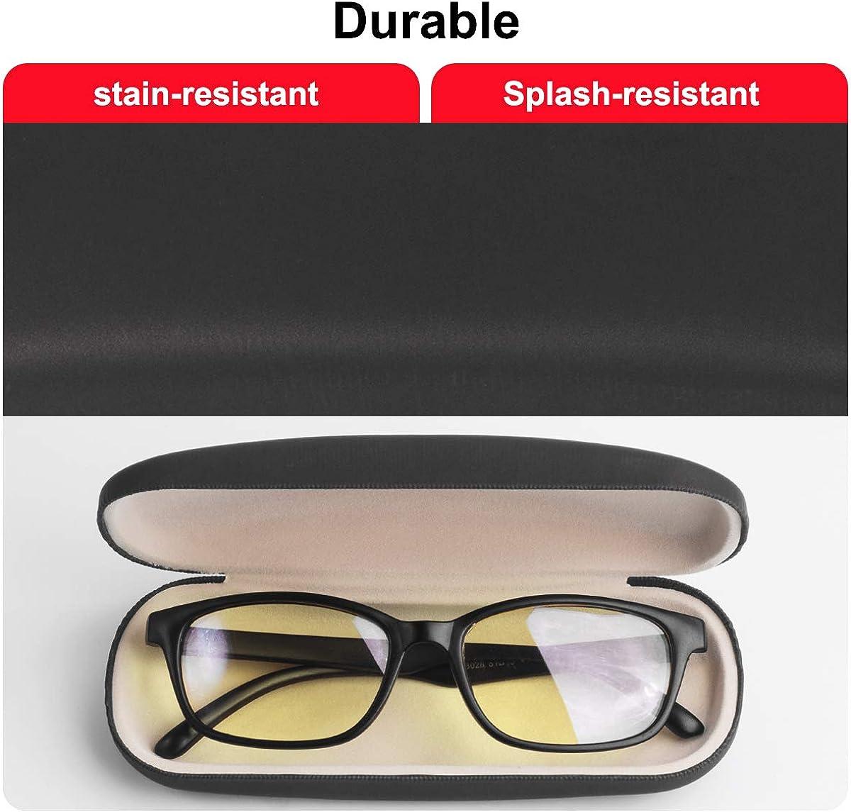 AkoaDa Hard Glasses Case Protective Cover for Glasses 2 Pack