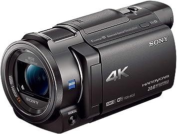 Amazon Com Sony 4k Hd Video Recording Fdrax33 Handycam Camcorder Camera Photo