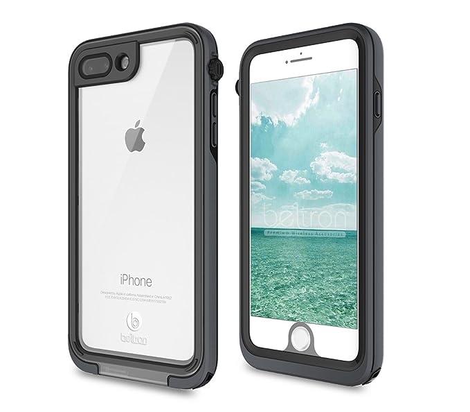 buy online edd39 5425b BELTRON aquaLife iPhone 7/8 Plus Waterproof, Shock & Drop Proof, Dirt  Proof, Heavy Duty Underwater Case (IP68 Rated, MIL-STD-810G Certified)  Features: ...