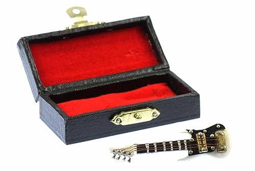miniblings Guitarra eléctrica de la Guitarra eléctrica Guitarra Broche Broche + Caja Blanca Cinta: Amazon.es: Joyería