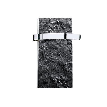 Climastar Slim – Radiador toalla con toallero Pizarra Negra 250 W