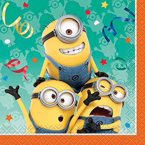 Amazon Despicable Me Minions Beverage Napkins 16ct Toys Games