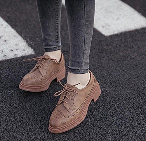 Frühjahr und Sommer Damen erhöhte Schuhe Dick unten Muffins Shoes mit Damen Schuhe, US6,5�?/EU37/Vereinigtes königreich4,5�?/CN37