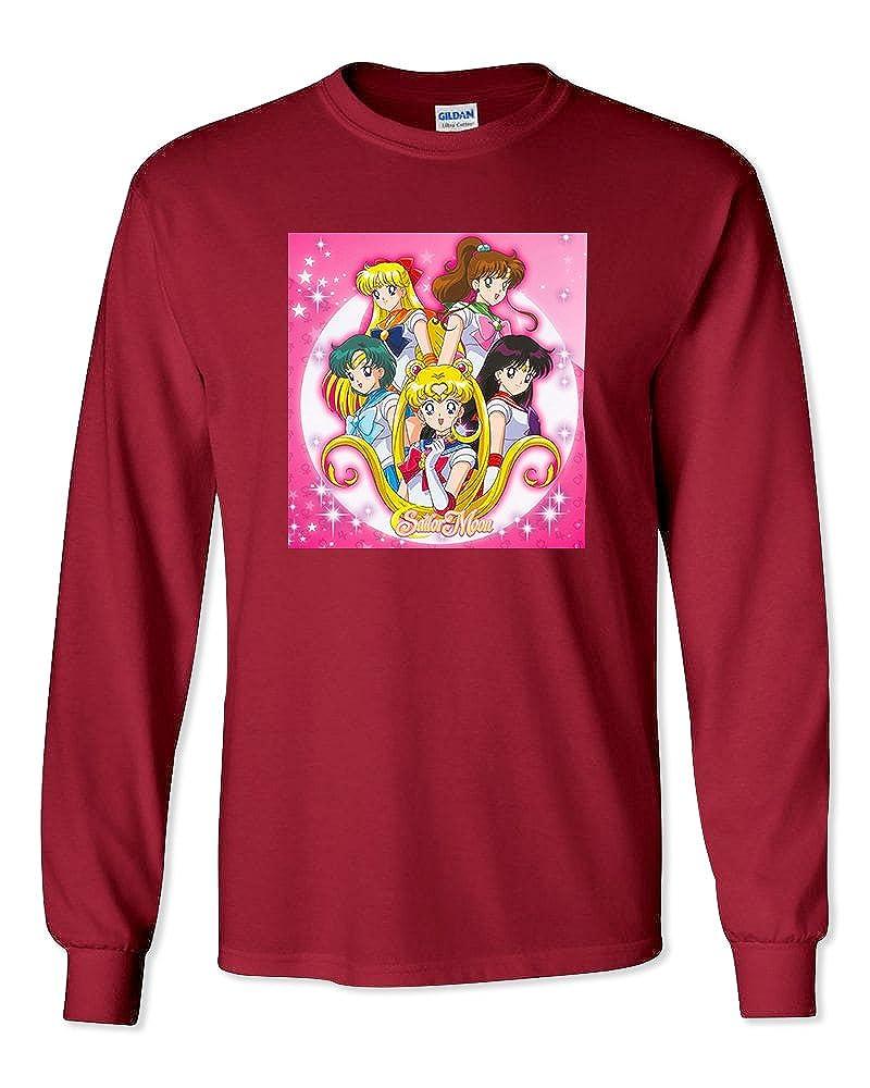 WallScrollPosters Sailor Moon Anime Unisex Long Sleeve Shirt Brand New SailorMoon-60/_Parent LS
