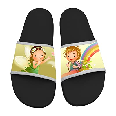 32 Melody Cartoon Slide Sandals Slippers Soft Comfortable Non-slip Casual Sandals Men & Women