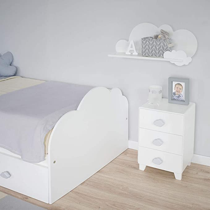 Bainba Cama Nido Nube Infantil (para colchón 105 x 190 cm ...