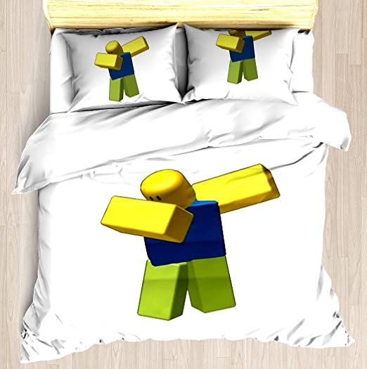 Coolest Roblox Dab Duvet Cover Set Soft Comforter Cover