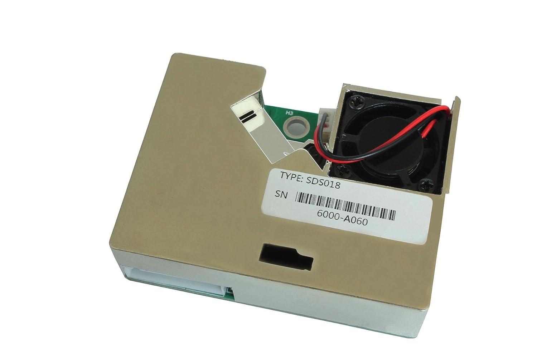 sds018 tóner pm2,5 Sensor Sensor de partículas polvo sensor: Amazon.es: Bricolaje y herramientas