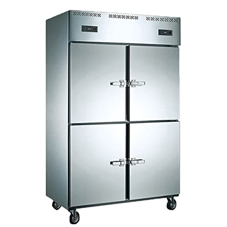 Amazon.com: 1000L Pull Doors Restaurant Kitchen Commercial Stainless ...