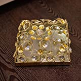 GiftingBestWishes Wedding/ Gift/ Packing Tray/Square Trans Wire Choco Box