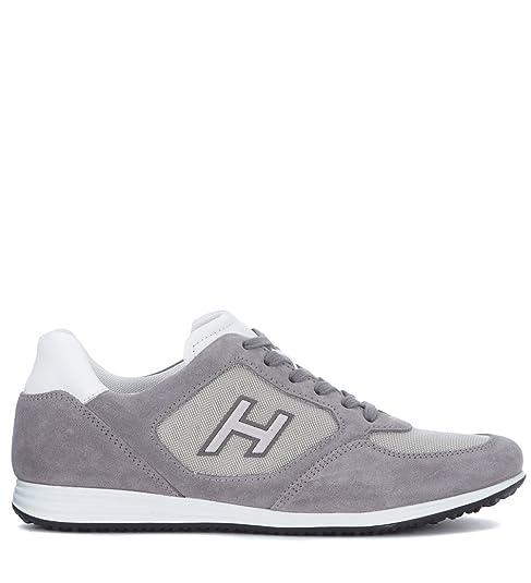 Sneaker H205 Hogan Olympia X H205 Sneaker en Ante Gris Zapatos y 6113cd