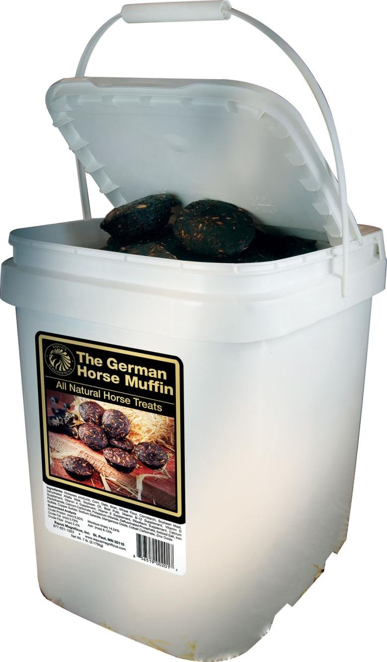 DPD The German Horse Muffin All Natural Horse Treats - 7 Pound Bucket