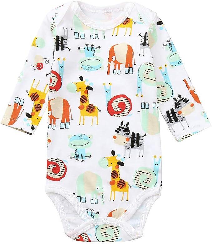 FELZ Bebé Mono Mameluco Niños Niñas Pelele Bebé Pijamas Algodón ...