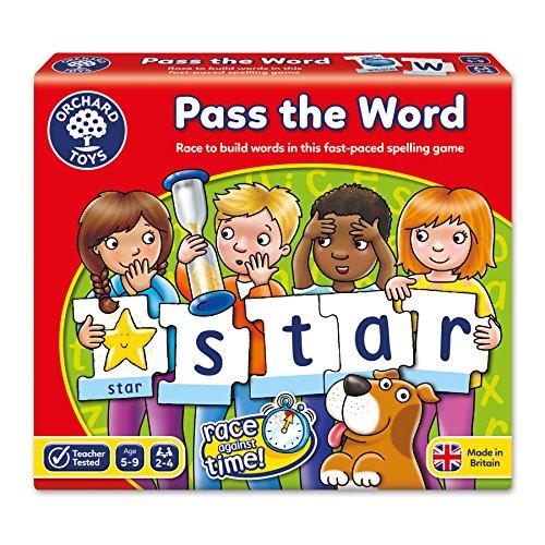 Orchard Toys - Jeu de société - Passe le mot - Pass The Word - Langue : anglais