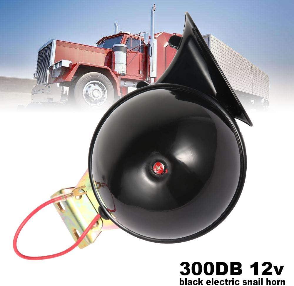 Klaxon Esgargot /à Air 12V Klaxon Voiture Puissant 300DB Electrique pour Voiture Camion Moto Bateau