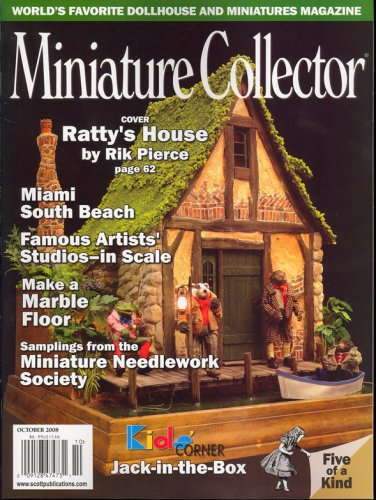 Miniature Collector Magazine - Miniature Collector, October 2008 Issue