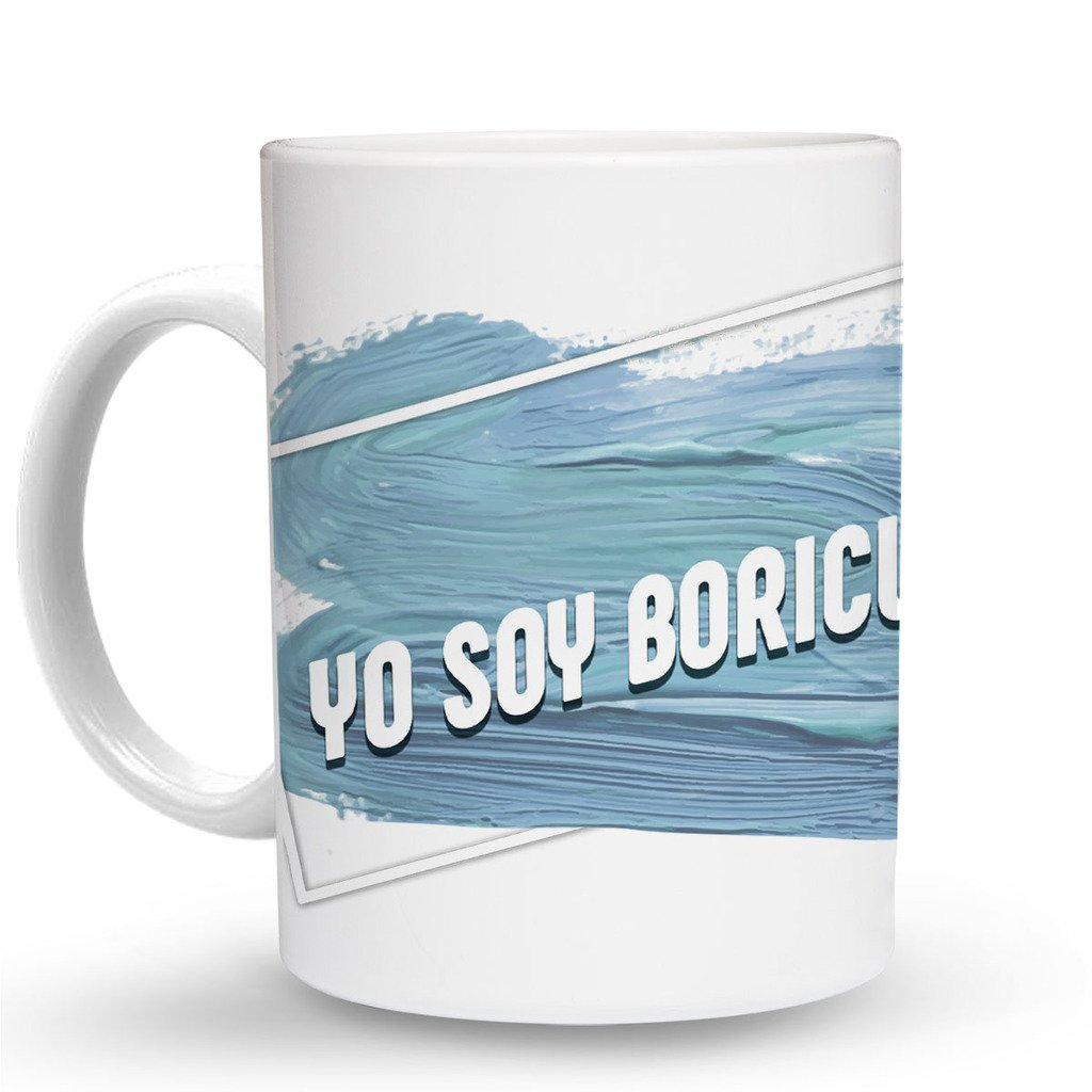 Amazon.com: Makoroni - YO SOY BORICUA - 11 Oz. Unique COFFEE MUG ...