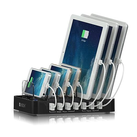 43 opinioni per Satechi stazione dock di ricarica 7 porte USB per iPhone 7 Plus / 7/ 6 Plus/ 6/