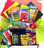 Back To School Essential Classroom Supply Pack Elementary to Junior High School (6th - 8th Grades)