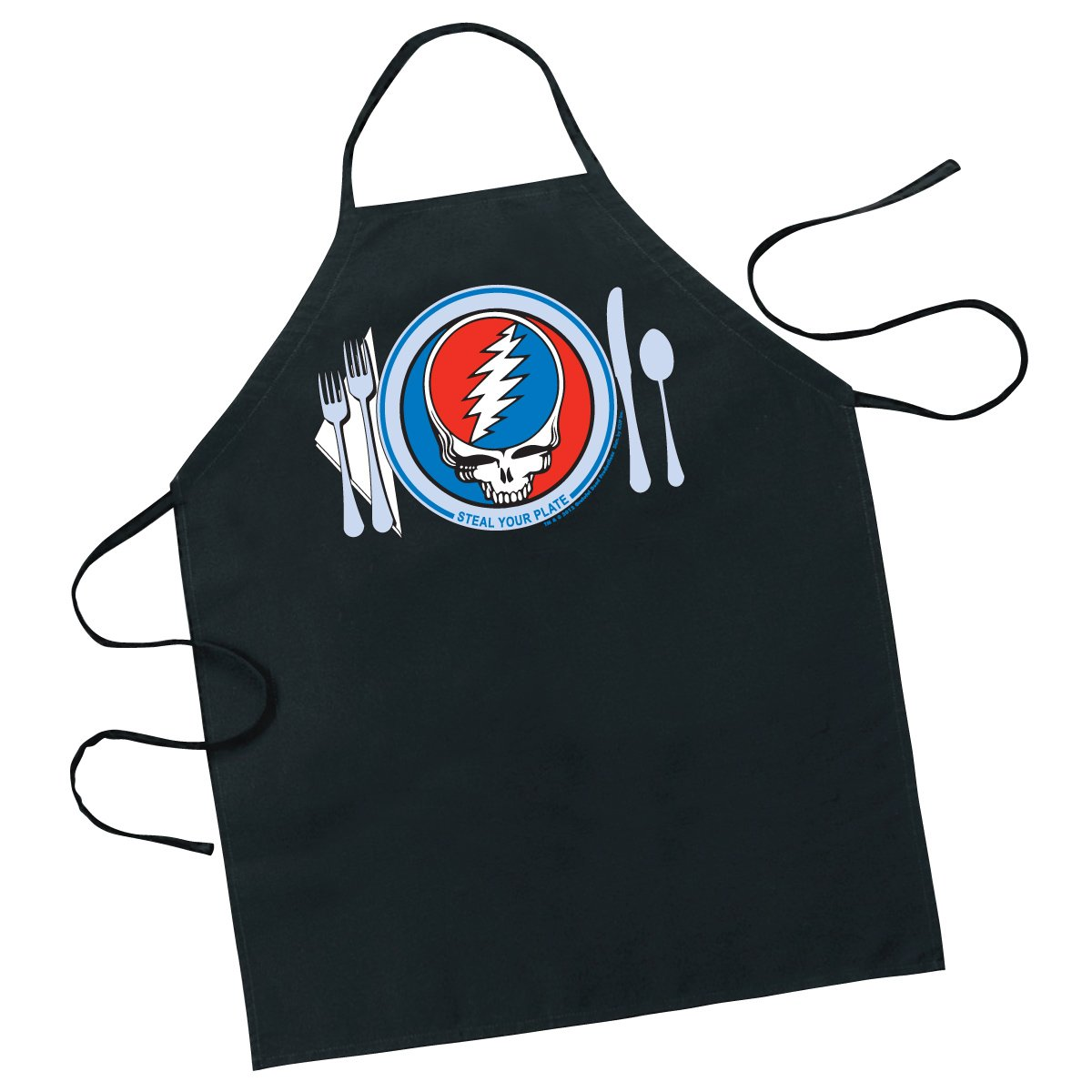 ICUP Grateful Dead Steal Your Plate Apron by ICUP