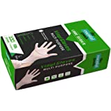 The Essential Goods Disposable Vinyl Gloves | Large Size | 100 Count | Non Latex Powder Free | Ultra Strong Non Sterile…