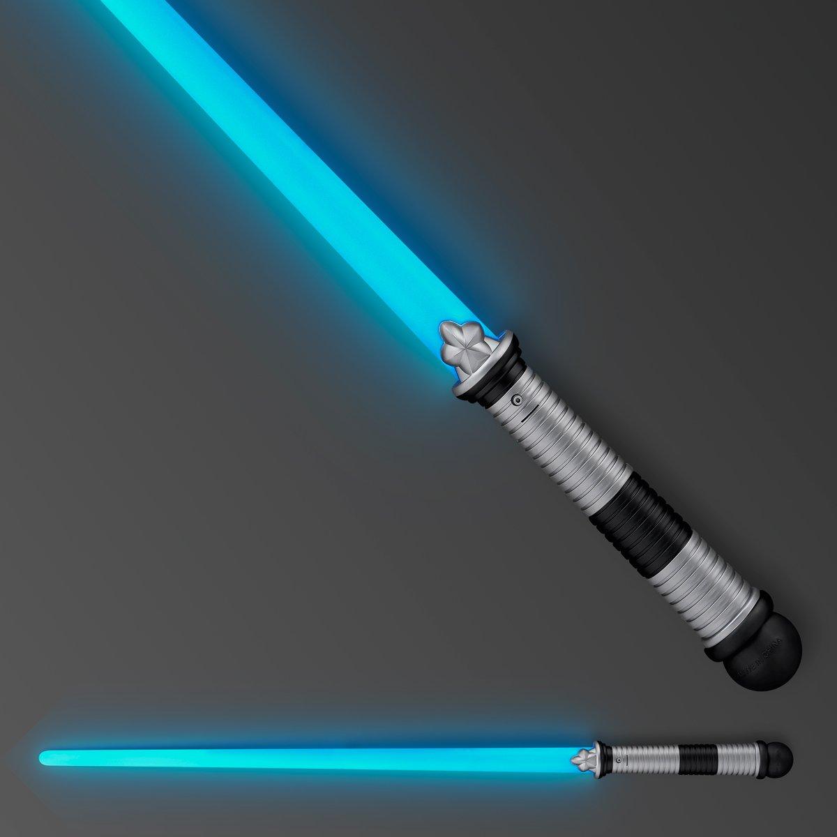 Blue LED Light Up Saber Space Weapon FlashingBlinkyLights