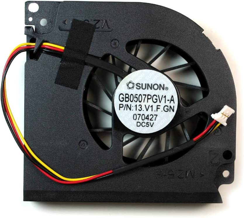 Gateway P-7809U Gateway P-7808 Gateway P-7808U Power4Laptops Replacement Laptop Fan for Gateway P-7807U Gateway P-7809