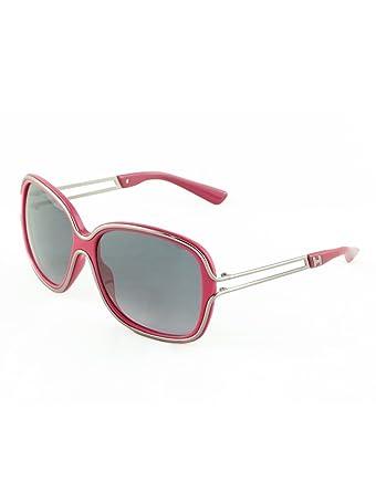 f789fe9c39c5 Hogan - Sunglasses - Woman - Lunettes de soleil Hogan femme ho0002 60 75b  rose - TU  Amazon.co.uk  Clothing