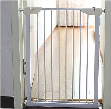 ZEMIN Seguro Cerrar Barrera De Seguridad Escalera Puerta For Niños Perros Eje Montaje De Presión Expandible Rápido Instalación De Presión, Multi-tamaño (Color : H 82cm, Size : Width 116~125cm): Amazon.es: Hogar
