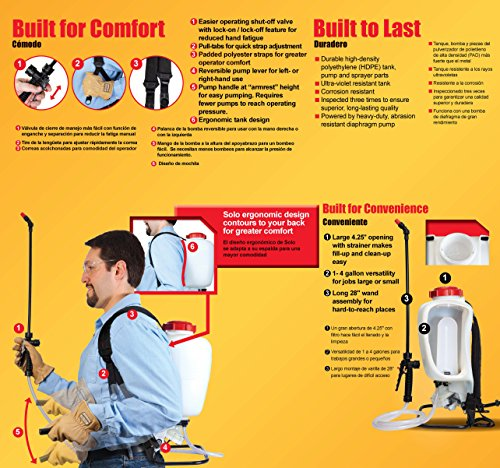 Solo 475-B-DELUXE Professional Backpack Sprayer