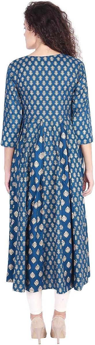 Vihaan Impex Robe Indienne Tunique Femme Kurti VIKU8027